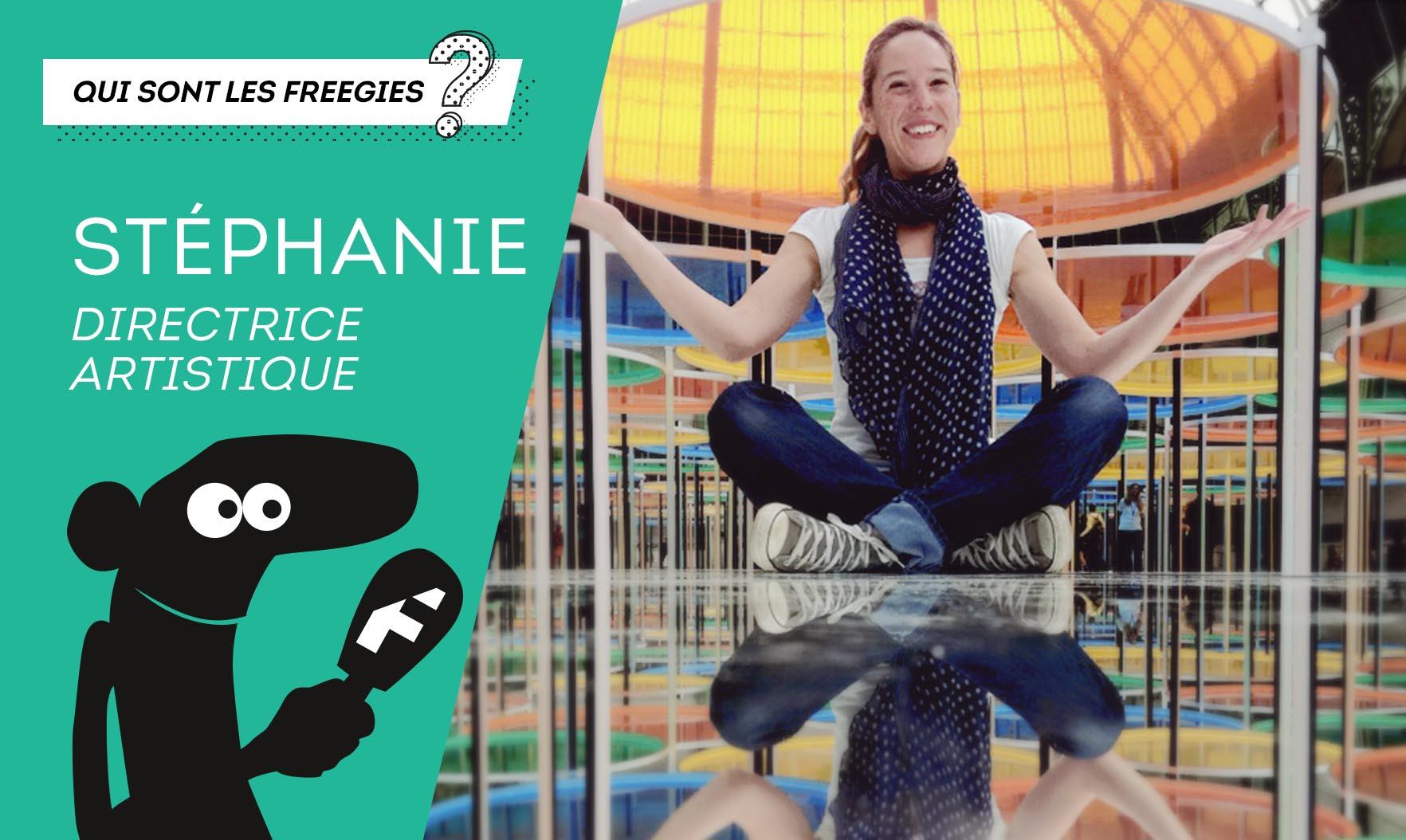 Interview de Stéphanie Saliou
